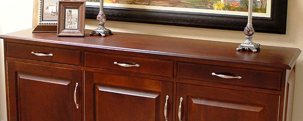 ... of your dining room by adding a server or sideboard to match. All items  shown can be manufactured in the hardwood and handles of your choice. - Meyer And Ferreira Product Categories Sideboards & Servers