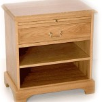 1 Drawer Open Shelf Pedestal
