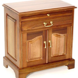 Double Door with Drawer Pedestal